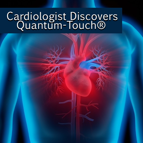 cardiologist using quantum-touch for his medical practice