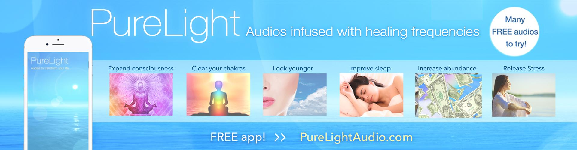PureLight Audio - Healing Frequencies - Free App