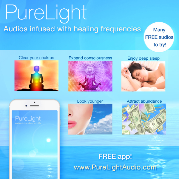 purelight audio healing frequencies - free app